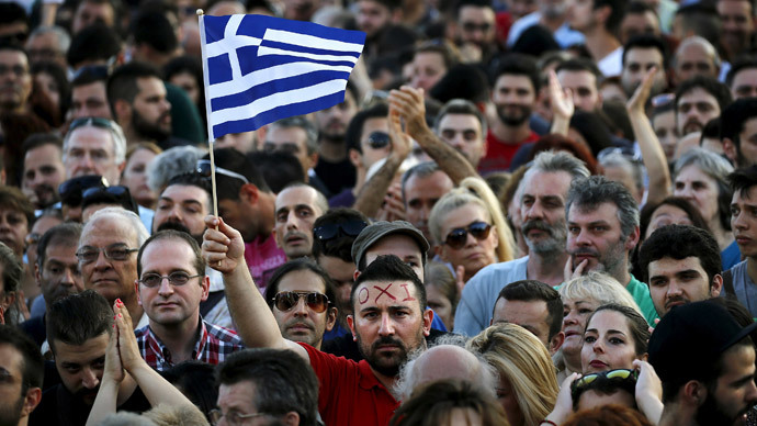 'No' and 'Yes' bailout referendum rallies gather thousands in Athens
