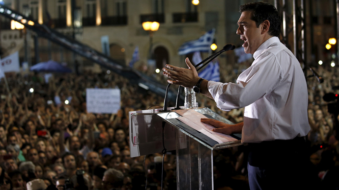 Pro-Greece rallies STORYMAP: How the world is expressing solidarity with anti-austerity campaign