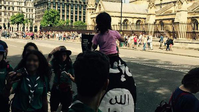 ​'Lawful' to wave ISIS flag on Parliament Square – Metropolitan Police