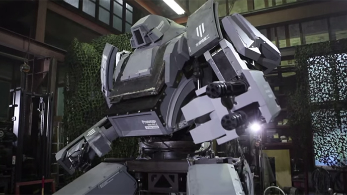 Robot wars: Japan agrees to fight America in giant 'Battlebots' duel