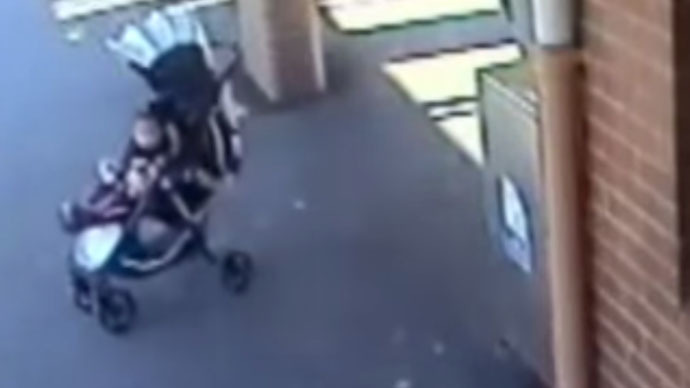 Heroic Sydney man jumps onto train tracks to save 18-month-old granddaughter