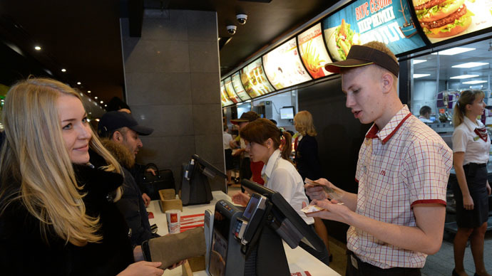 New bill to equate fast food with vodka in advertising