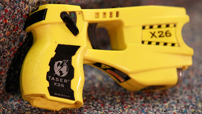 Number of police departments using stun guns, Tasers increased by 10 times – report