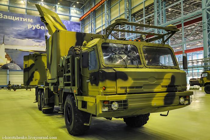 S-350 Vityaz radar (Image from Igor Korotchenko's Military Diary http://i-korotchenko.livejournal.com)