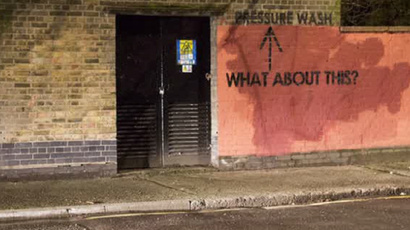 London Wall: How graffiti artist got council authorities to clean up their act (VIDEO)