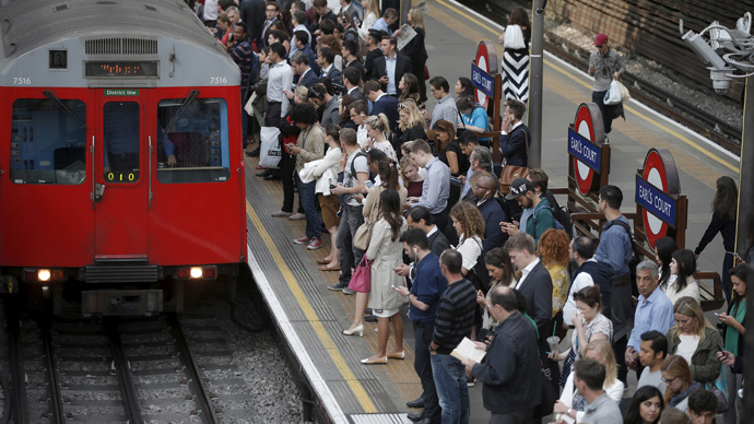'Daylight robbery!' Uber screws Londoners with 300% Tube-strike price hike (VIDEO)