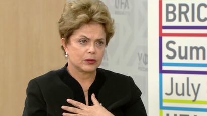Brazil neither exerts nor supports sanctions – President Rousseff to RT