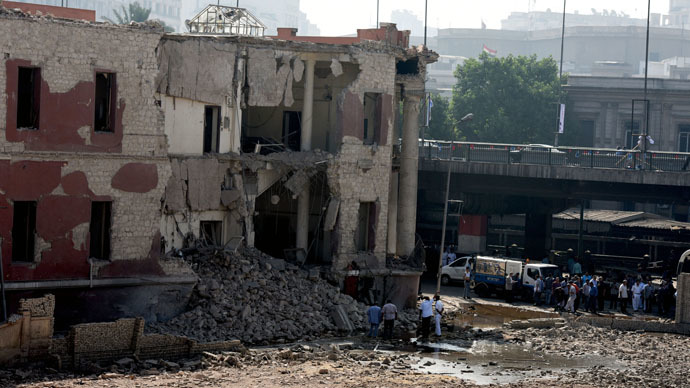 ISIS claims responsibility for blast at Italian consulate in Cairo