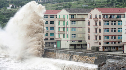 Over a million people evacuated from China east coast as typhoon Chan-hom hits (PHOTOS, VIDEO)