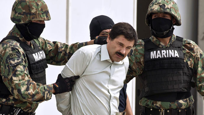 Notorious Mexican drug lord Guzman flees top security prison via 1.5km tunnel