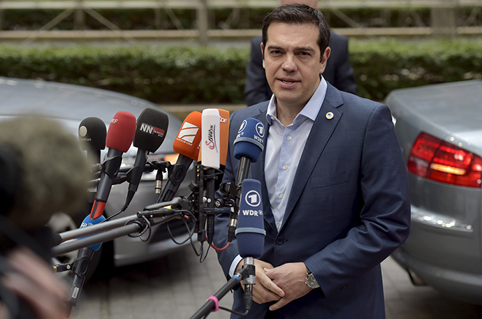 Greece's Prime Minister Alexis Tsipras. (Reuters / Eric Vidal)