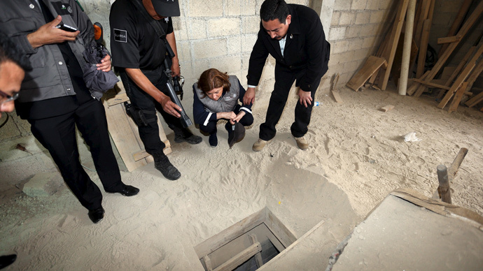 Biggest jailbreak tunnel? How Mexican drug lord El Chapo escaped prison