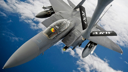 An F-15E Strike Eagle (Reuters / Ethan Morgan / U.S. Air Force / Handout)