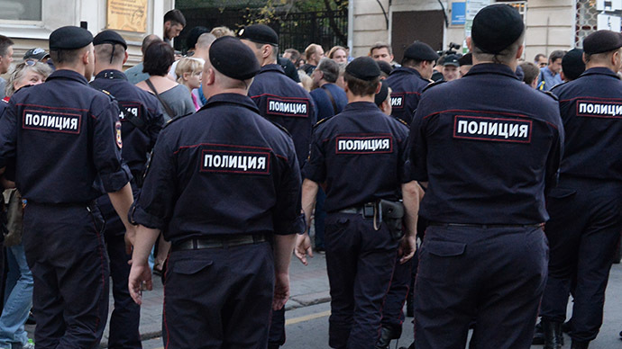 Russia cuts police force by 10 percent