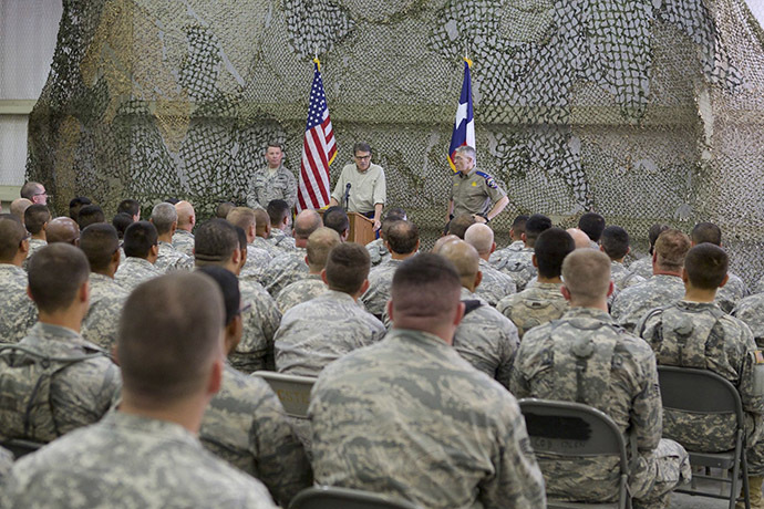 Texas State Guard (Reuters / Office of the Governor of Texas)