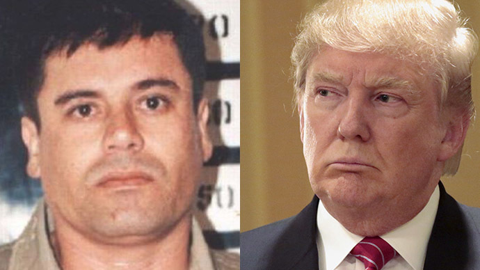 'I'll make you eat your words': Escaped cartel boss threatens Trump on Twitter