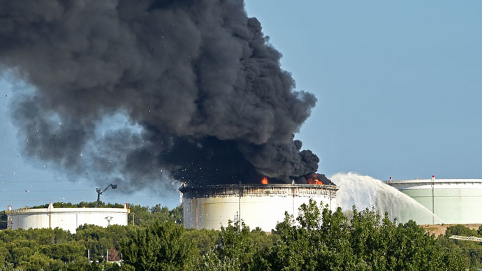 2 blasts rock oil refinery in southern France 10km from Marseille Airport