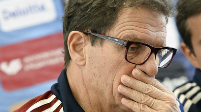 ​Capello's contract as Russia national coach terminated 3 years early