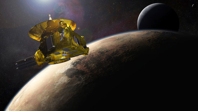 ​NASA's New Horizons spacecraft speeds past Pluto in closest-ever approach