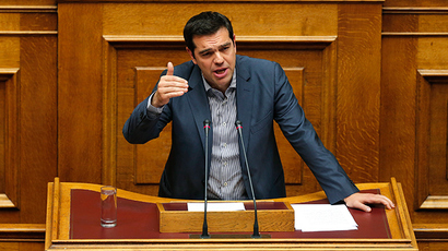 'Agree or go bust': Tsipras explains, defends 'bad' bailout deal 'imposed' on Greece