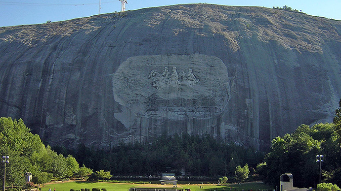 NAACP calls for removal of giant Confederate carving on Georgia mountainside
