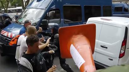 Arrests, clashes & arson mar Bastille Day celebrations in France