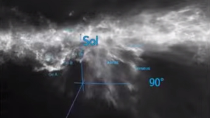 Largest ever 3D map of galaxy's cosmic dust made for enthusiasts to navigate (VIDEO)
