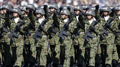 Japan's parliament panel greenlights military deployment law
