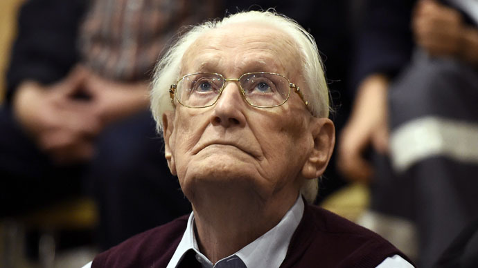 94yo ex-Auschwitz guard found guilty of 'accessory to murder' of 300,000 Jews