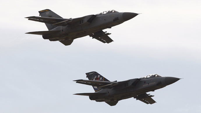 British air force closes Cyprus runway after deadly missiles fall off UK jet