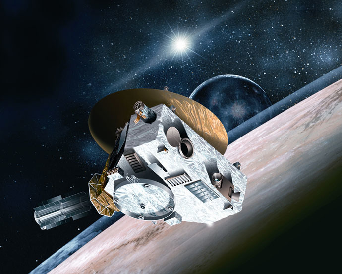 The New Horizons spacecraft (Photo credit: NASA)