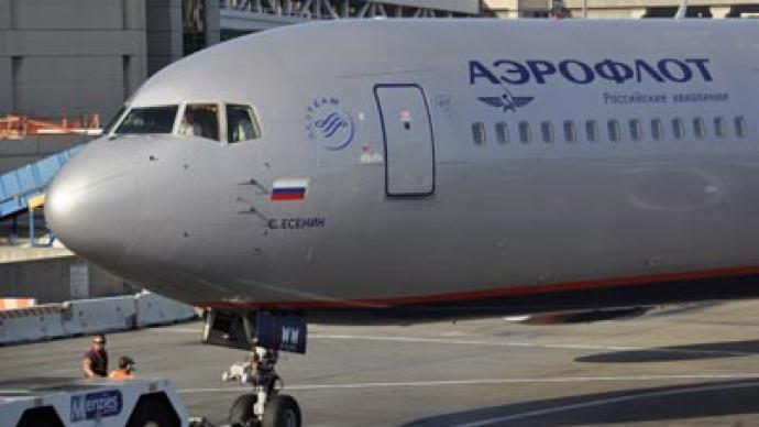Russia's Aeroflot net profit falls 53-fold