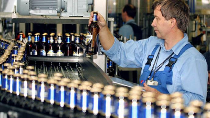 Baltika posts FY 2010 net profit of 19.2 billion Roubles