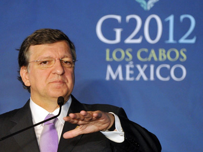 'We are not coming here to receive lessons' – Barroso at G20