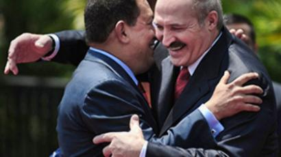 "Chavez: ""Thank you, Russia!"""