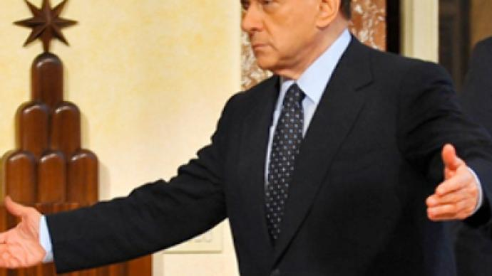 Berlusconi backs calls for EU to provide financial support on Ukraine gas
