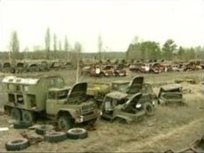 Chernobyl scrap: Ukraine wants to trade