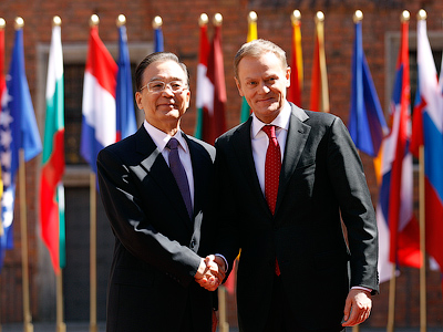 China gives $10 bln helping hand to Central Europe