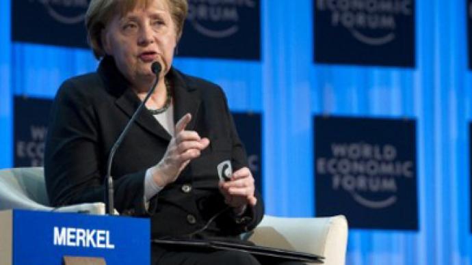 Chancellor Merkel oasis of calm among Eurozone firestorm