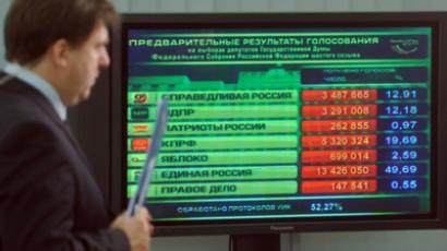 Power carve-up in Duma after ruling party's poll slump