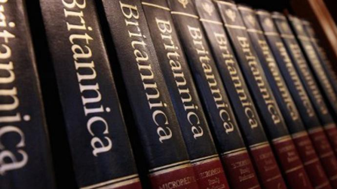 Britannica sales skyrocket on paper edition halt