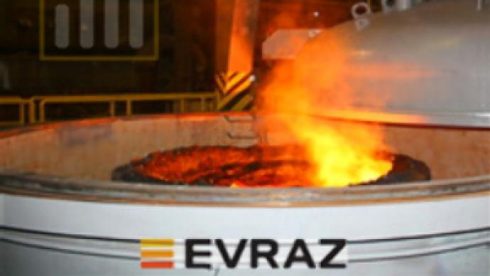 Evraz posts 1H 2008 82% Net Profit increase