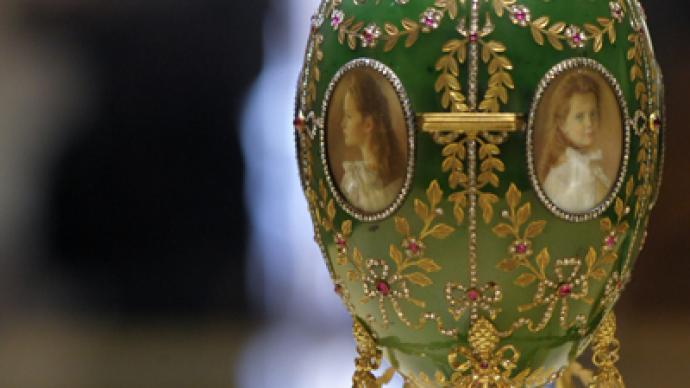 Faberge eggs to pave way for Russian high tech in China