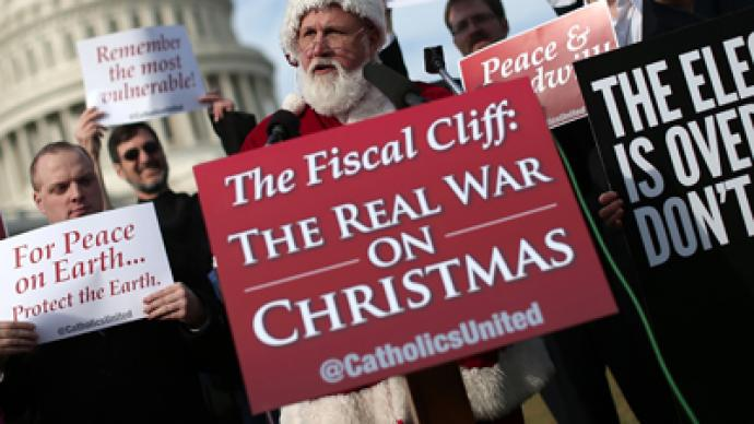 Fitch: 'Fiscal cliff' would cost US sovereign rating
