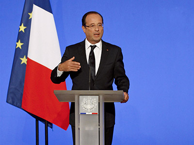 The taxman cometh: Hollande sets France's 'toughest budget in 30 years'
