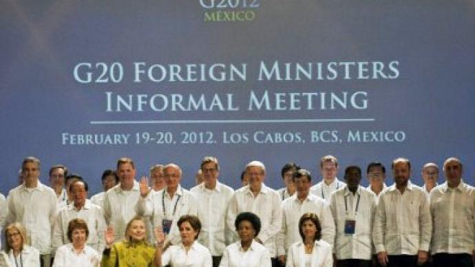Hard money talks for G20 finance ministers