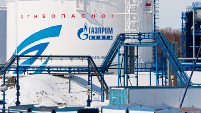 Gazprom posts 9M 2010 net profit of 668.75 billion roubles