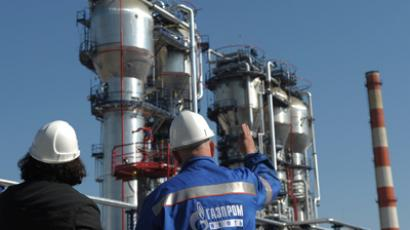 Gazprom's profit drops after discounts for Europe