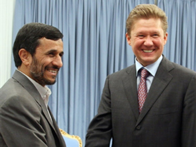 Gazprom ties up with National Iranian Oil Company
