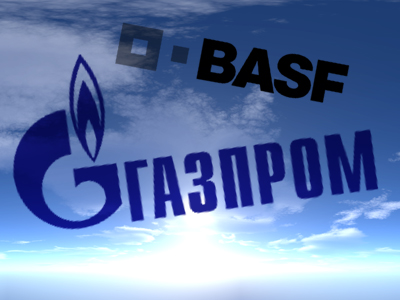 Gazprom swaps Siberian fields for BASF gas trading and storage businesses